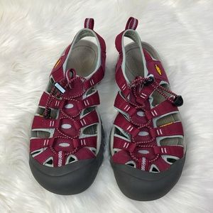 Pink & Grey KEEN Water Shoes